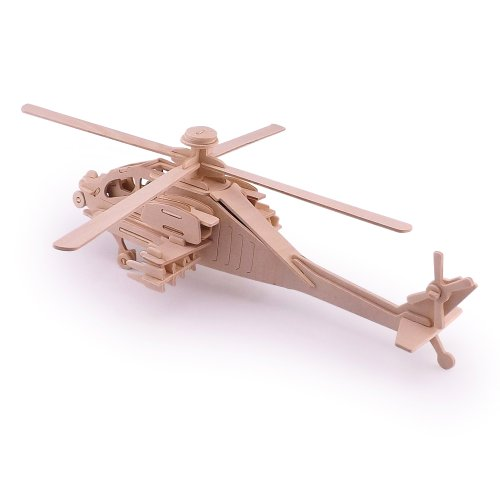 Woodcraft Construction Kit 3d Puzzle - 6