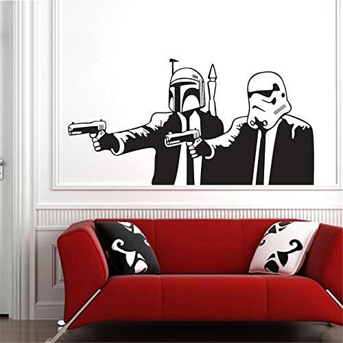 Umondon Wall Decal Sticker Art Mural Home Dcor Quote Children's Star Wars Stormtrooper Killer Vinilos Infantiles Voor Kinderen Kamers ()