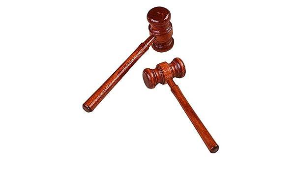Hammer Judge - Disfraz de Juez de Madera, Delicado, Hecho a Mano ...