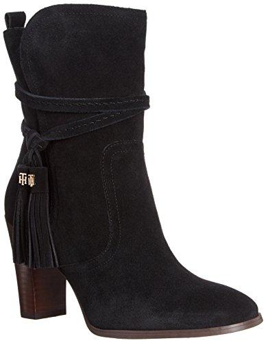 Ankle Bootie Hilfiger Varick Black Women's Tommy qT6BvawA