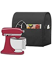 Luxja Dust Cover for KitchenAid Mixers, Cloth Cover with Pockets for KitchenAid Mixers and Extra Accessories