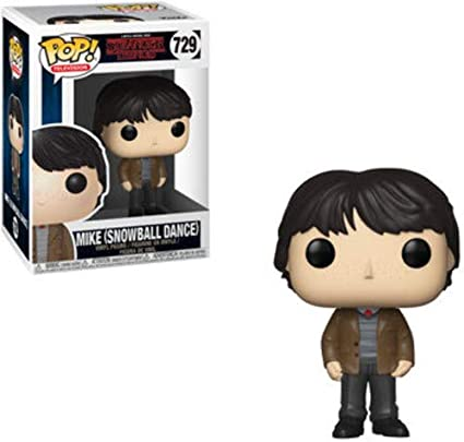 Pop! Stranger Things S2 - Figura de Vinilo Mike (Snowball Dance)