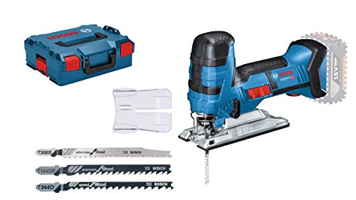 (Bosch Professional Gst 18 V-Li S Cordless Jigsaw (Without Battery And Charger) - L-Boxx)