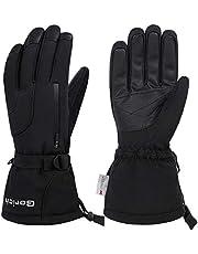 Gorich Ski Gloves,Waterproof Mens Womens Ski Gloves, Winter Warm 3M Thinsulate Snow Gloves Snowboard Gloves Snowmobile Gloves