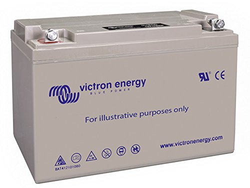 Victron Energy - Batterie 130Ah 12V GEL Deep Cycle Victron Energy Photovoltaïque Nautique - BAT412121104