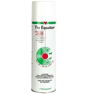 3 pack of Equalizer Carpet Stain & Odor Eliminator 20 oz aerosol