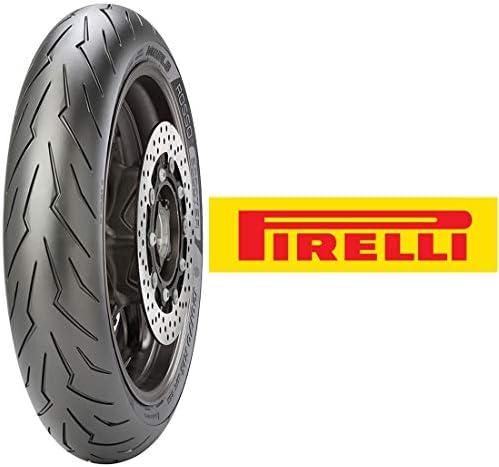 PIRELLI (ピレリ) スクーター用 DIABLO ROSSO SCOOTER フロント 120/70R14 M/C 55H チューブレスタイプ 2768600 二輪 バイクタイヤ