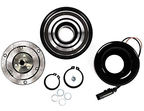 (KARPAL AC A/C Compressor Clutch Assembly Repair Kit 1J0820803B Compatible With Audi TT Volkswagen Beetle Golf Jetta)