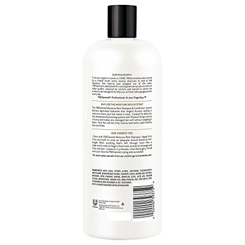 Tresemme Shampoo and Conditioner Set Bundle, 28 Ounce, Moisture Rich
