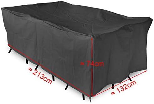 CLE DE TOUS - Funda para mesa rectangular Muebles de Jardín ...
