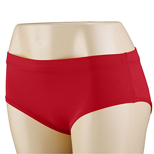 Augusta Sportswear Girls' CHEER BRIEF M Red (Red Jacket Cheerleader)