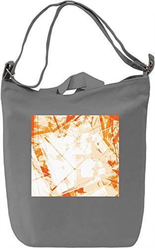 Modern Mess Full Print Borsa Giornaliera Canvas Canvas Day Bag| 100% Premium Cotton Canvas| DTG Printing|