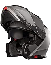 Capacete Moto X11 Turner Solides Articulado Viseira Interna Fumê