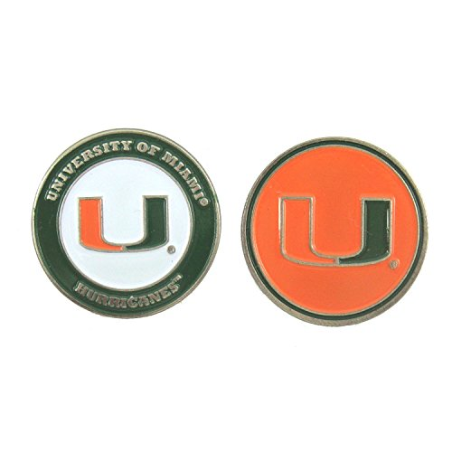 Miami Hurricanes NCAA Double-Sided Golf Ball - Coral Gables Stores
