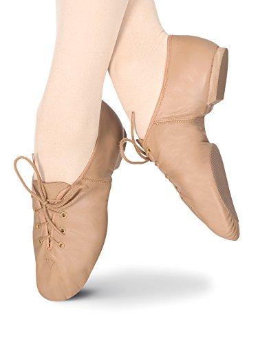 Adult-Lace-Up-Jazz-ShoesT7302TAN060MTan060M