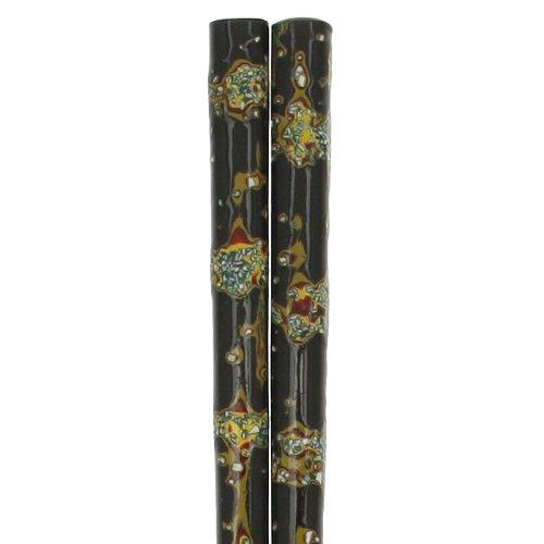 Kotobuki Wakasa Lacquer Japanese Artisan Chopsticks, Saga Nishiki