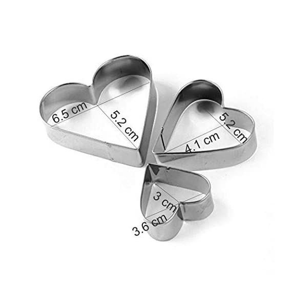 SYGA 12 Pieces Cookie Cutter Stainless Steel Cookie Cutter with Different Shape 2