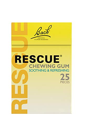 - Nelsons Rescue Remedy Rescue Chewing Gum Spearmint 25 Pieces