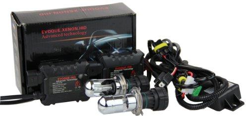 Super Bright Car HID Bi-Xenon Dual Beam Telescopic Light (12V,35W) Headlight Conversion Kit –2 pcs of HID Digital Ballasts and 2 pcs of H4/H4-3/HB2/9003 HID Bi-Xenon Hi/Lo high/low Bulbs/Lights/Lamps 10000K Brilliant Blue Beam Digital Hid Kit