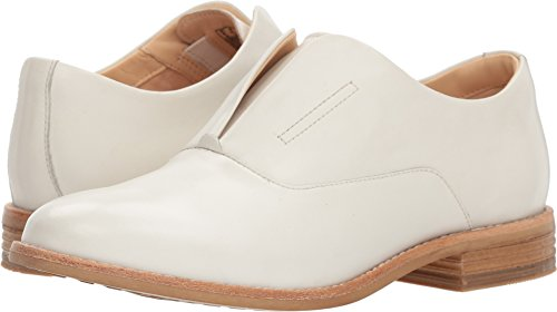 Clarks Artisan Womens Edenvale Opal Casual Oxford White Leather
