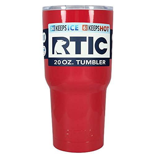 RTIC Vampire Red Gloss 20 oz Stainless Steel Tumbler Cup