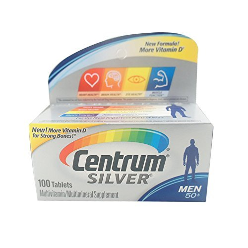 Centrum Silver Men's 50+ Tablets 100 Tablets by Centrum