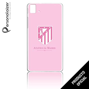Personalaizer - Funda Carcasa Oficial Escudo Rosa atlético ...