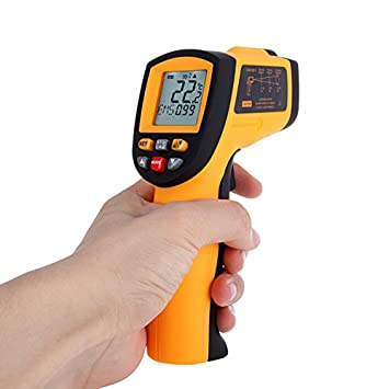 Japace® GM900 -50°a 900°(-58 to 1652F) Sin contacto infrarrojo Point IR Termómetro Digital Laser IR Digital Termómetro infrarrojo Termómetro Digital Batería ...