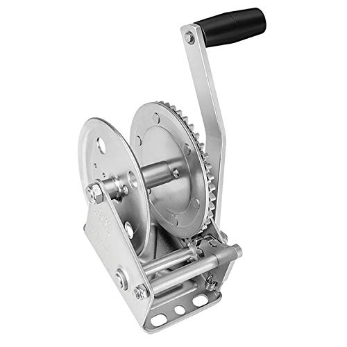 Fulton 142103 Single Speed Winch-1300 lbs. Capacity (Single Speed Trailer Winch)