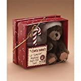Santa Bubba Bear W/Orn Gift Set