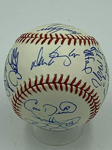2000 Chicago Cubs Team Signed MLB Baseball Sammy Sosa COA - PSA/DNA Certified - Autographed Baseballs