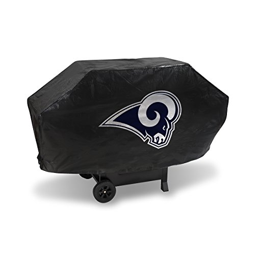 - Rico Industries NFL Los Angeles Rams Vinyl Padded Deluxe Grill Cover