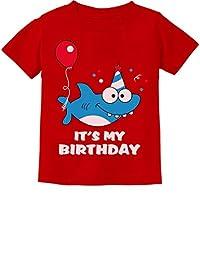 Birthday Boy or Girl Shark Shirt 1st 2nd Birthday Outfit Infant Kids T-Shirt