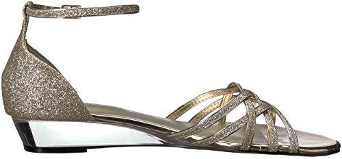 De Verni De Facile Blanc Paillettes Femmes De Des Sandale Blanc Rue Tarrah D'or Coin aYqd4nwP