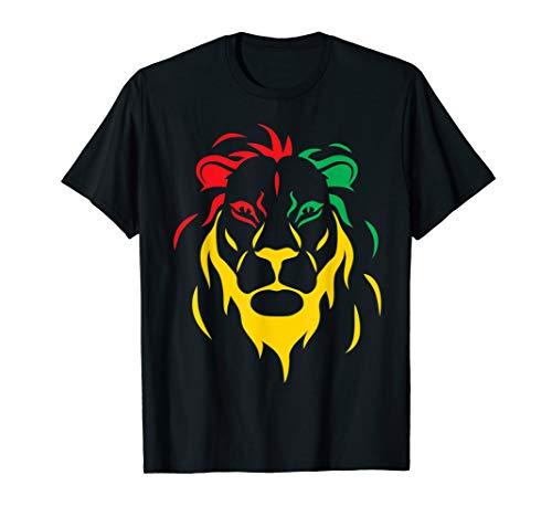 Rastafari Reggae Lion T-Shirt -