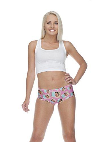 Bragas para mujer Hipsters, calzoncillos con impresión digital, ropa interior KIM'S ASS