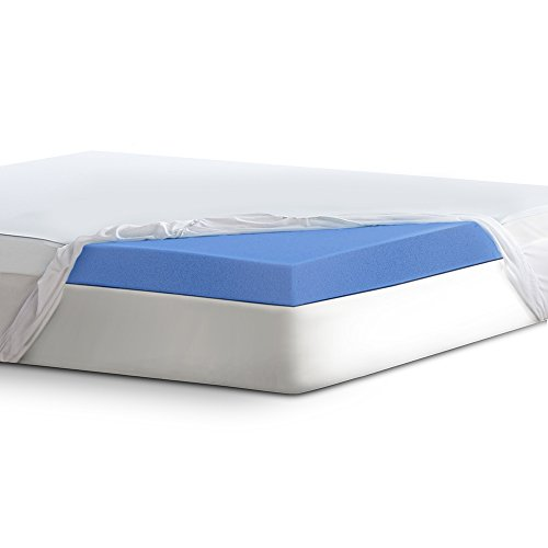 Serta 4' Lasting Dream Ultra Gel-Infused Memory Foam Mattress Topper, Queen