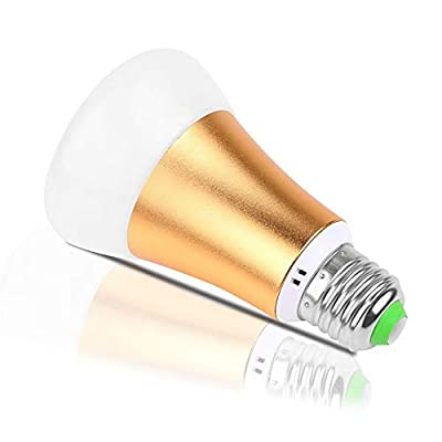 MYMGG GYN-Dm E2710W LED Colour Changing Light Bulb with Remote Control RGBW Bayonet - RGBW Daylight and White Dimmable Coloured – Timing Function