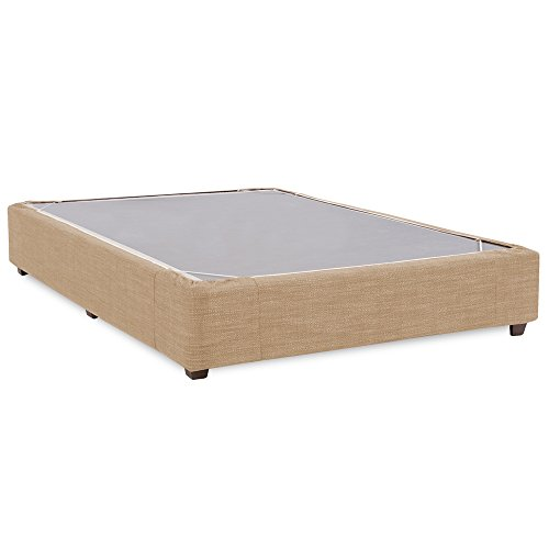Howard Elliott 243-888S Platform Bed Conversion Kit & Boxspring Cover, King, Coco Stone by Howard Elliott Collection