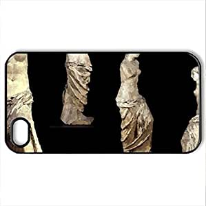 the Greek goddess of love and beauty - Case Cover for iPhone 4 and 4s (Ancient Series, Watercolor style, Black)