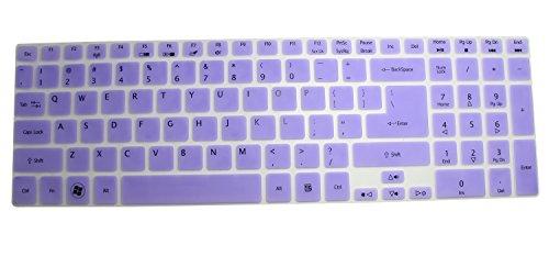 CaseBuy Silicone Keyboard Protector Semi Purple
