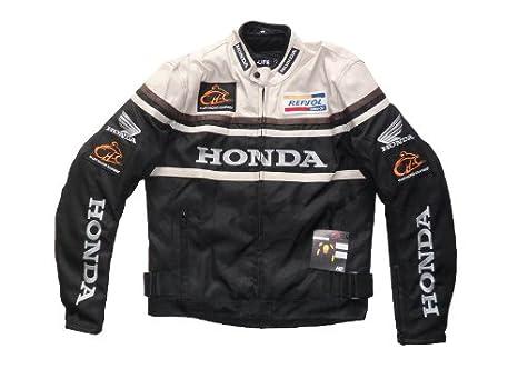 Honda para Hombre Chaqueta para la moto Resistencia al agua ...