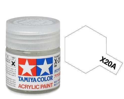 Tamiya Acrylic Mini X-20A Thinner 81520