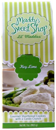(Maddy's Sweet Shop Key Lime Shortbread, 7-Ounce Boxes (Pack of 12))