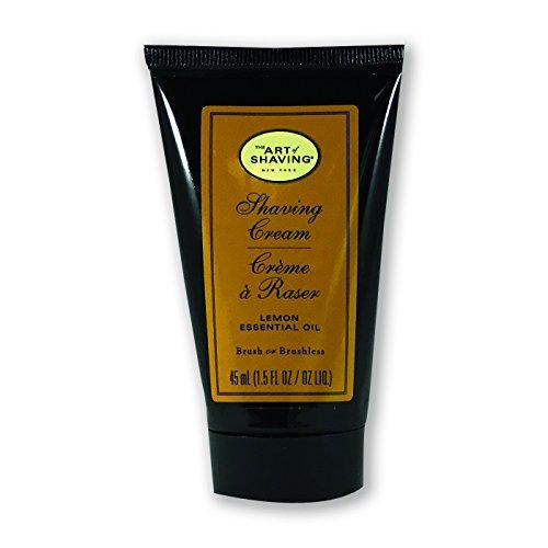 Art Shaving Cream Pump Lemon product image