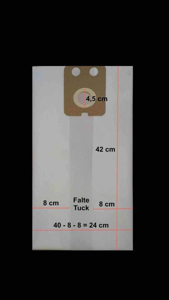 5x Staubsaugerbeutel Papier passend für Nilfisk GD710 GD1000 u.a.