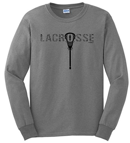 Lacrosse Word Collage Sleeve T Shirt