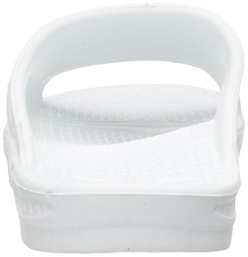 Telic Unisex Slide Sandale Weiß