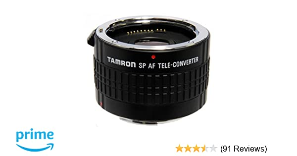 Amazon.com : Tamron SP AF 2x Pro Teleconverter for Nikon Mount ...