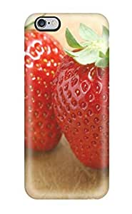 Fashion Protective Food Berry Case Cover For Iphone 6 Plus(3D PC Soft Case)